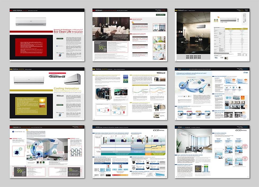 電化製品(エアコン)製品カタログ
