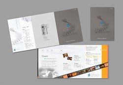 建築関連の会社案内パンフレット