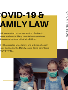 COVID-19 and Family Law