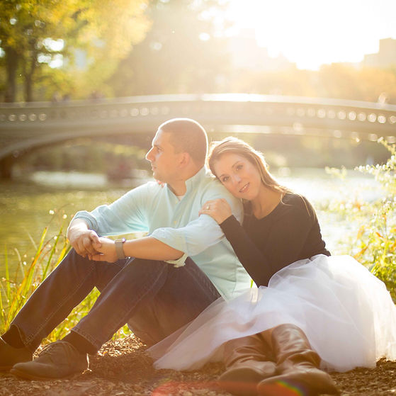 nyc engagement shoot - Annandale Photogr