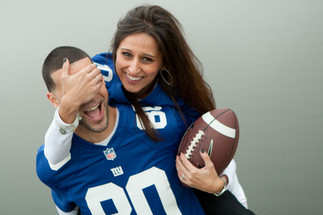 football engagement session