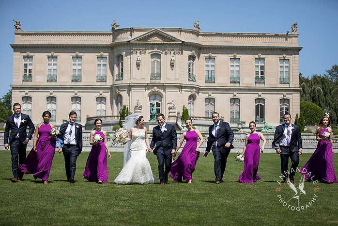 Wedding at The Elms in Newport