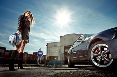 Ford Mustang Engagement