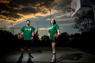 basketball engagement shoot