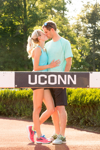 Uconn Engagement photos