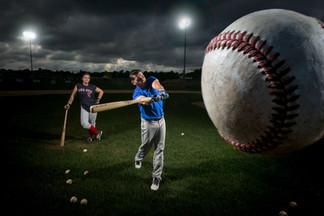 Baseball Engagement Session