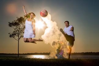 kickball engagement