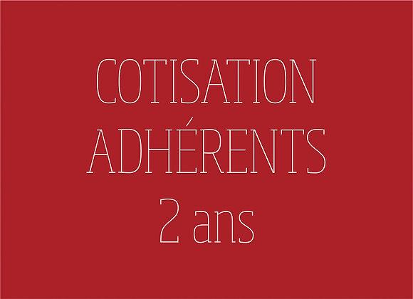 Cotisation adhérents (2022-2023)