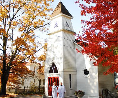 Why Is The Episcopal Church Door Red?