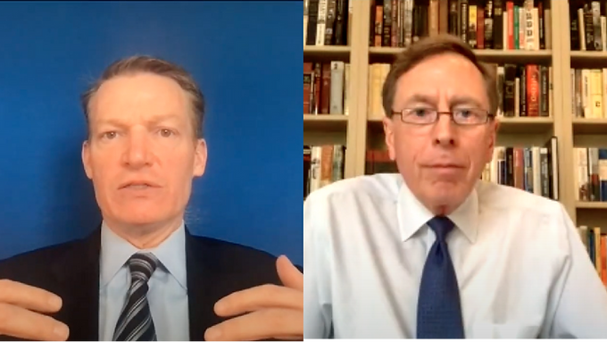 An Interview with Kevin Mandia and General David Petraeus