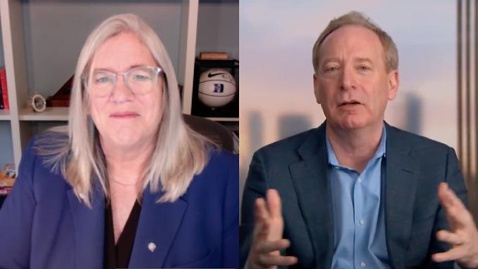 A Conversation with Brad Smith and The Hon. Susan Gordon