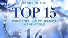 14ª Maior Empresa de Vendas Diretas do Mundo