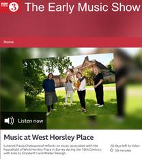 BBC RADIO 3 EARLY MUSIC SHOW