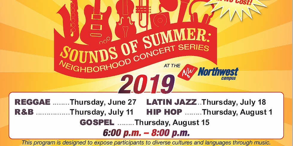 Wayne County Community College District's Sounds of Summer: Neighborhood Concert Series
