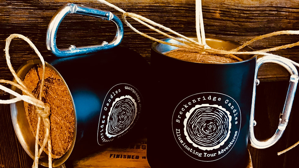 8 Ounce Carabiner Camp Cup