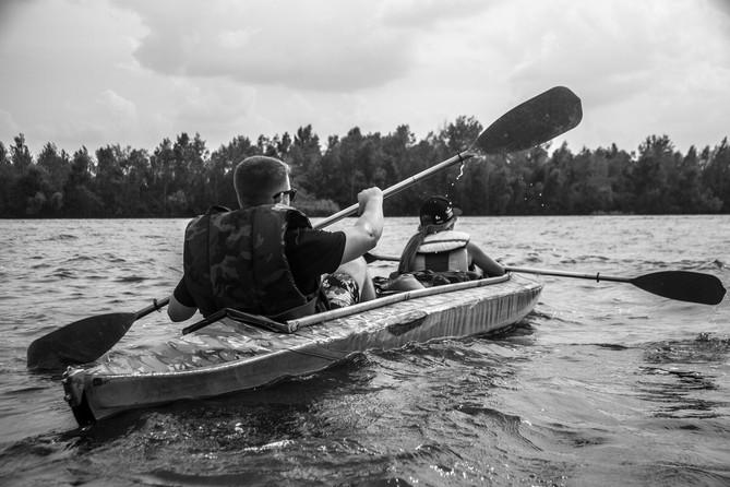 24-27 августа сплав на байдарках 2017