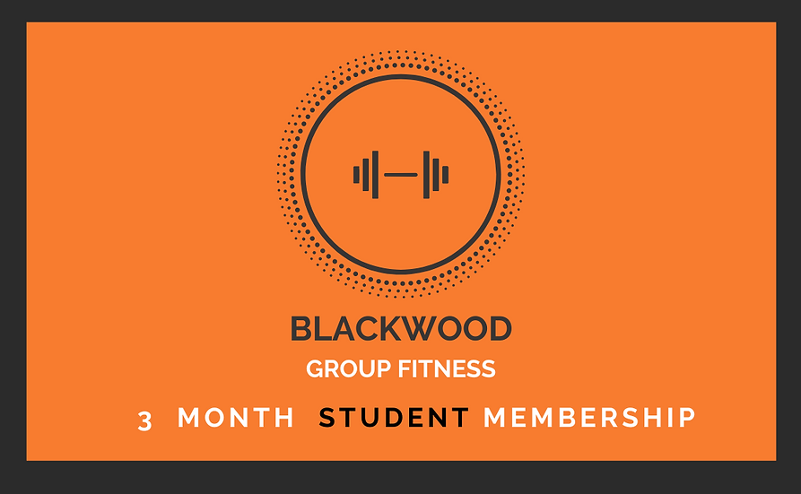 Student 3 Month Membership ($150) (+ online booking fee)