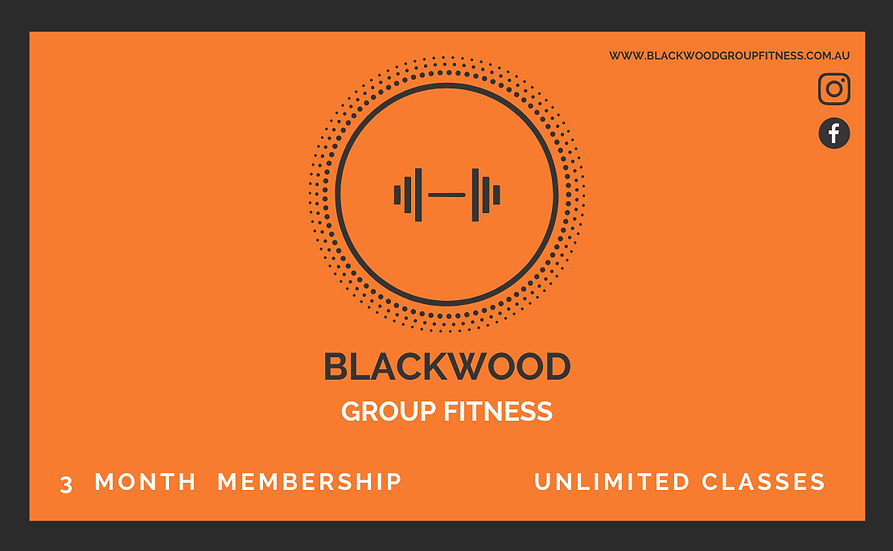 3 Month Up-Front Membership ($175) + online booking fee