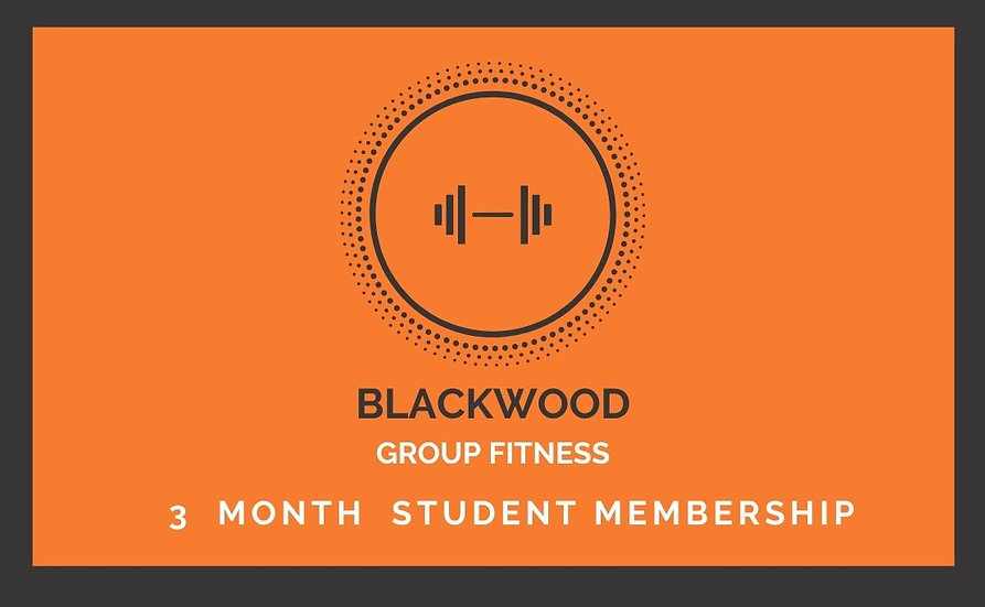 3 Month Up Front STUDENT Membership