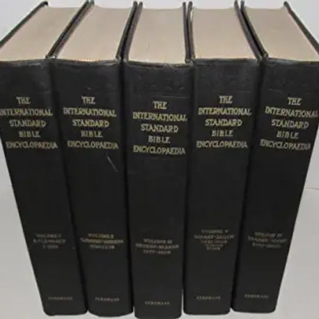 The International Standard Bible Encyclopedia, 5 volume set