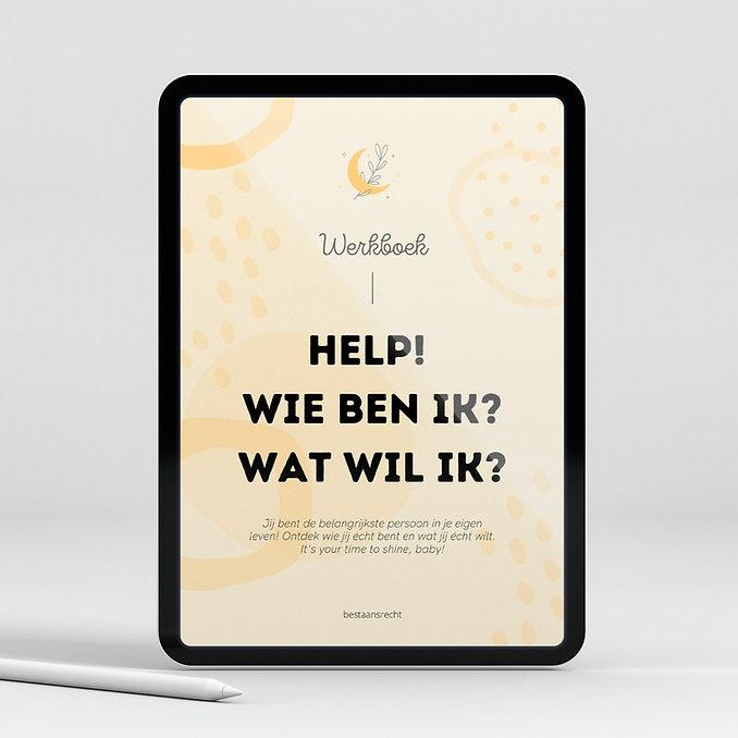 Werkboek - Help, wie ben ik en wat wil ik?