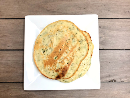 Healthy Herb Flatbreads (Paleo)