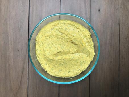 Spring Lemon Dill Hummus