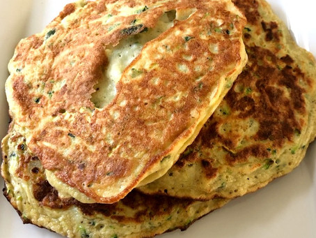 Grain- Free Zucchini Pancakes