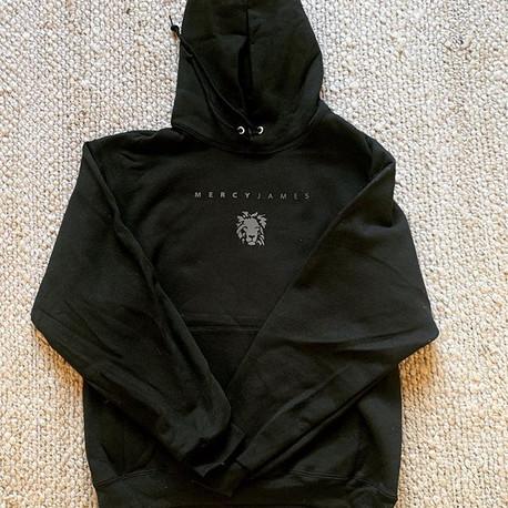 Charcoal on Black Classic Hoodie