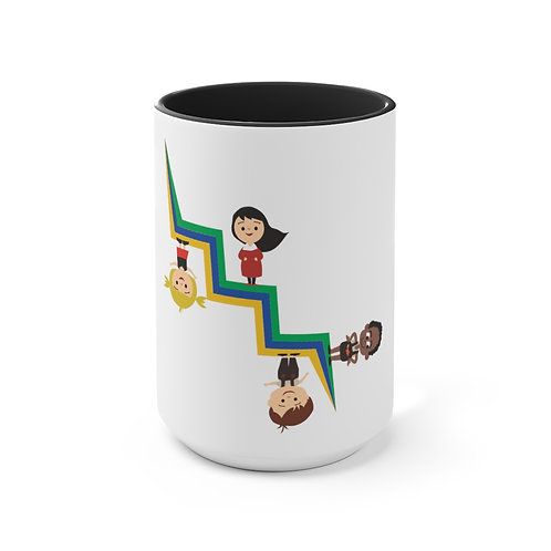 For One Child Accent Mug
