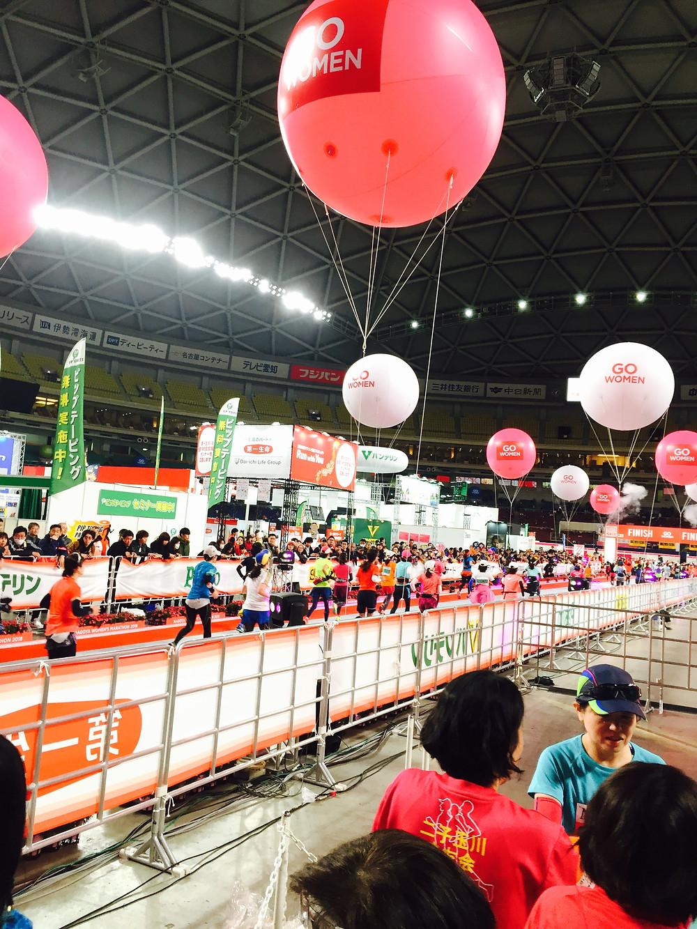 名古屋ウイメンズマラソン ゴール