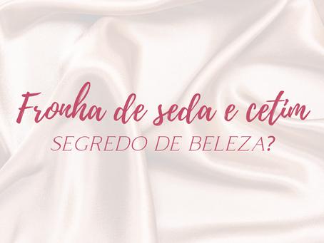 Fronha de seda e cetim: frescura ou segredo de beleza?