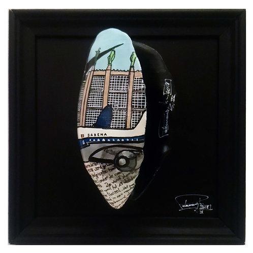 "Art mussel ""Expo58"", Michael Peetermans"