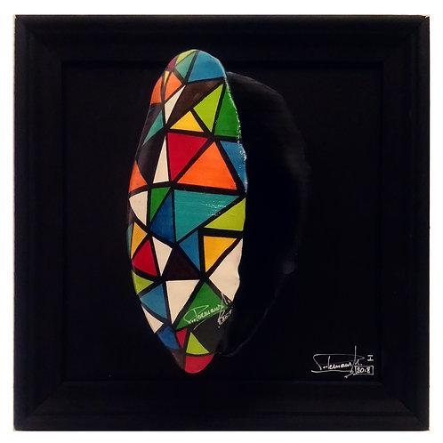 "Art mussel ""Arlecchino"", Michael Peetermans"