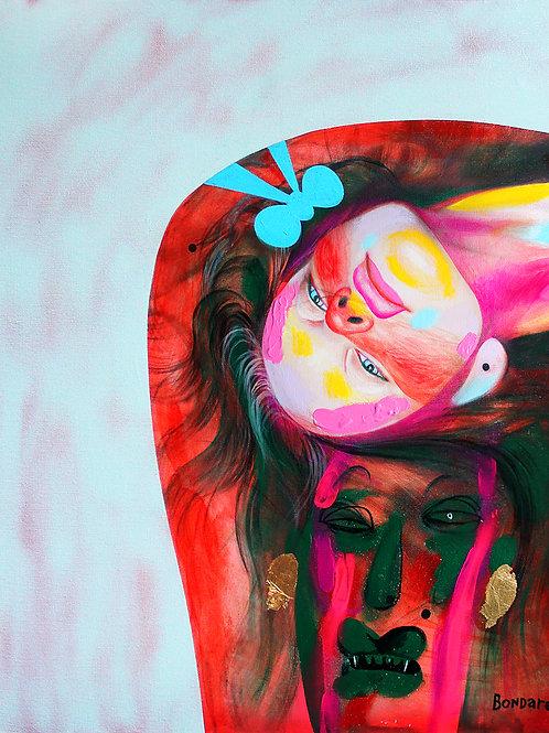 Hat Girl. Bondarev Sergei