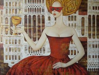 Выставка Марии Аристовой в выставочном пространстве Biblioteka