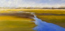 Marsh View  II - oil on canvas - 18hx36w