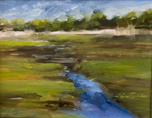 Marsh View-oil-Giclee prints for sale.