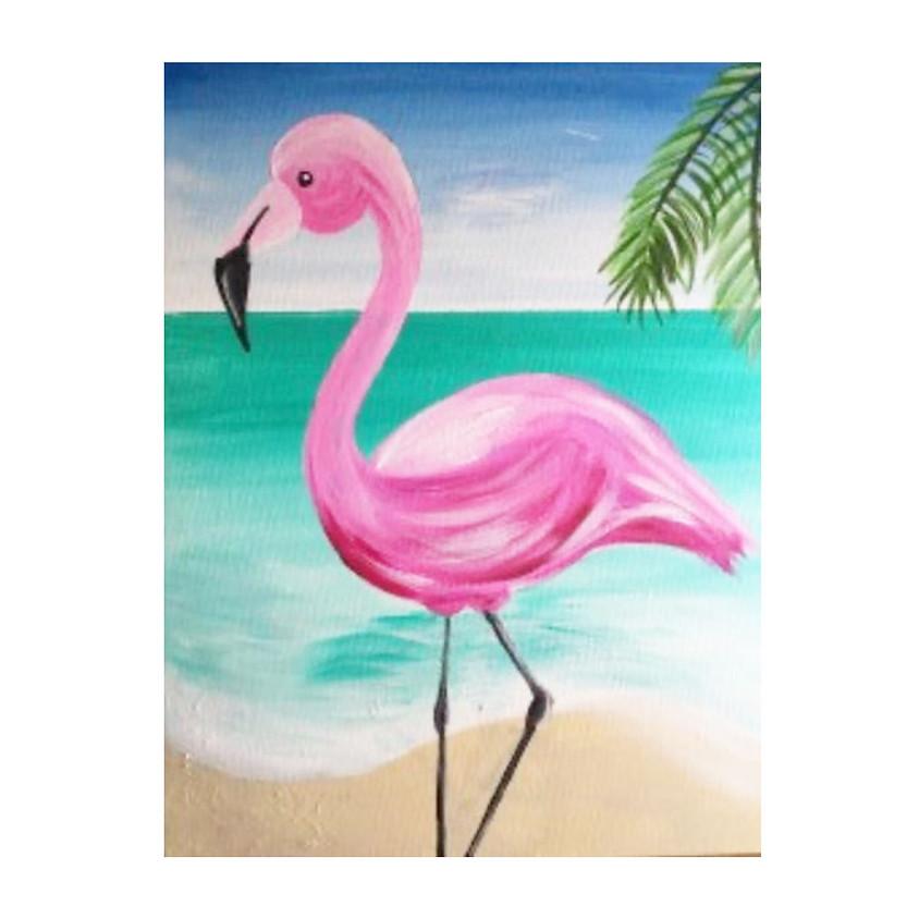 Flamingo Drawing