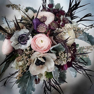 A beautiful bridal bouquet for today! lo