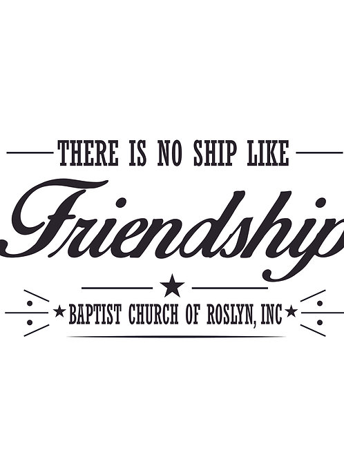 No Ship Like Friendship
