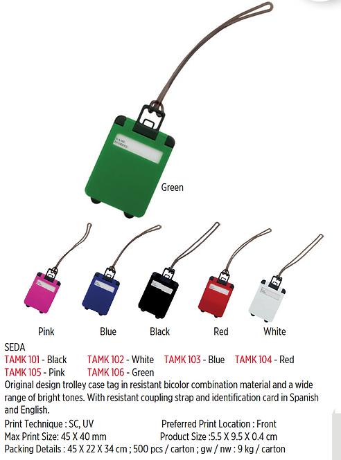 SEDA - Luggage Tag - Black