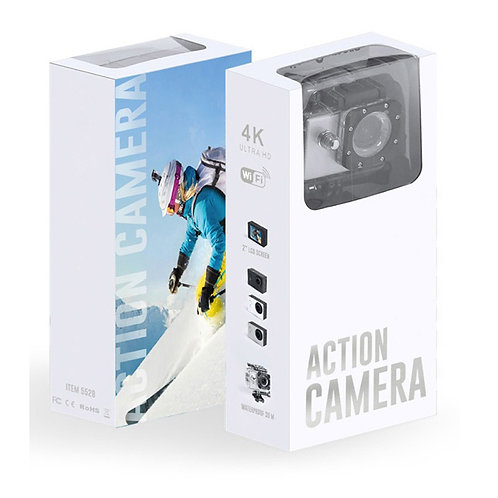 High Quality Sports Camera With HD 4K Video Capture