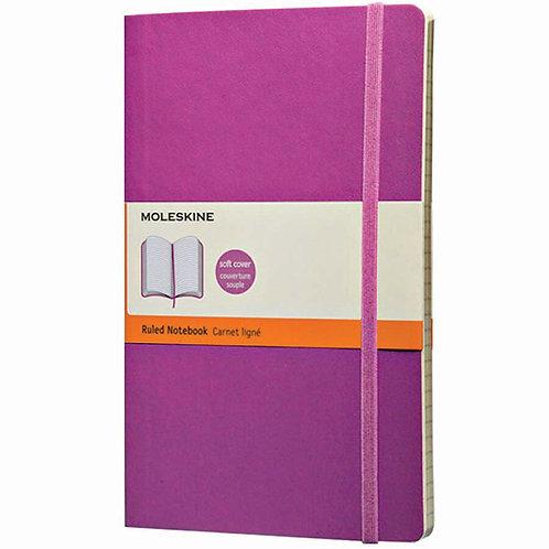 Moleskine Classic Hard Cover Large Ruled Notebook