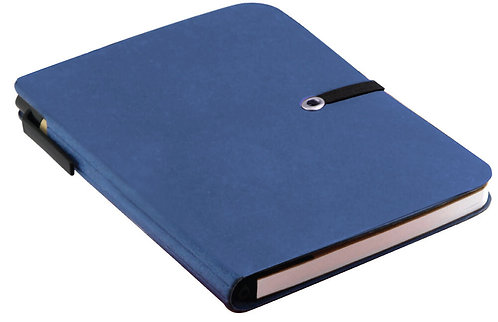 Eco-neutral Nuuk Meetings Notepad Blue