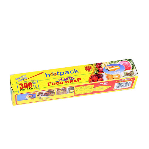 Hotpack-food wrap (cling film) 300sqft