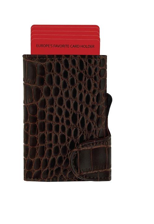 Santhome - CIKAW Security For You Crocodile Leather Cardhol