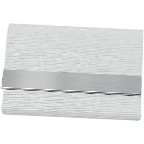 Giftology MITSE Smooth Metal Cardholder + Pu Covering (Whit