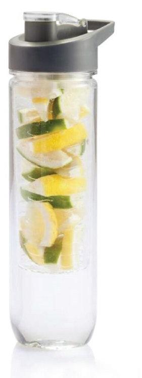 Hasn Larsen Infus Fruit Infuser Water Bottle Transparent
