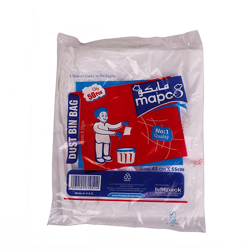 Hotpack-dust bin liner bag 45*55cm-50pcs